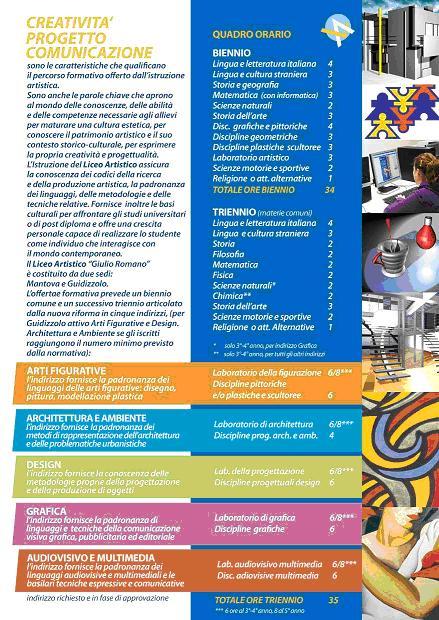 Download brochure quadro orario